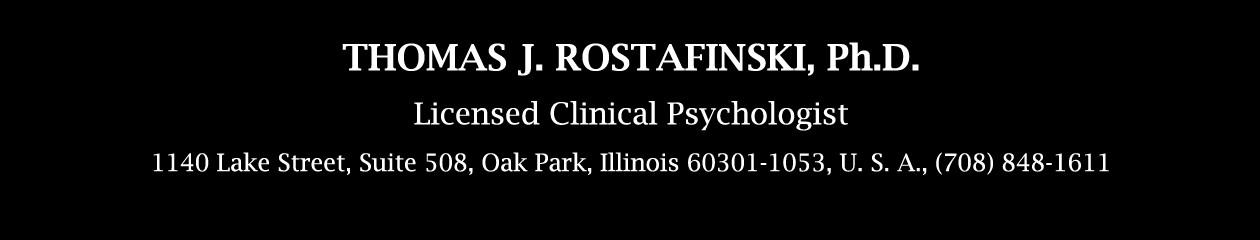 Thomas J. Rostafinski, Ph.D.